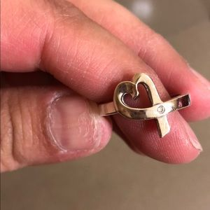 Tiffany and co Paloma Picasso loving heart ring